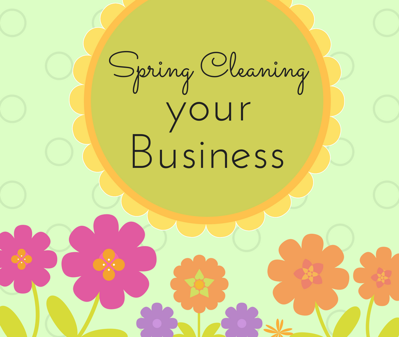 Your Favorite Topic:  Spring Cleaning Your Business