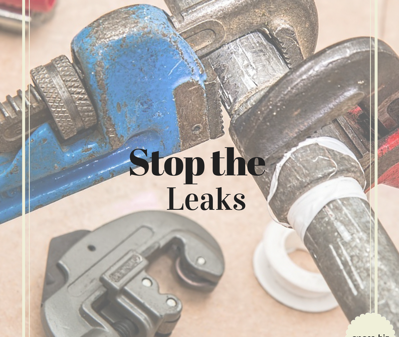 Stop the Leaks!