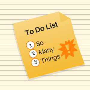 A solopreneurs to do list